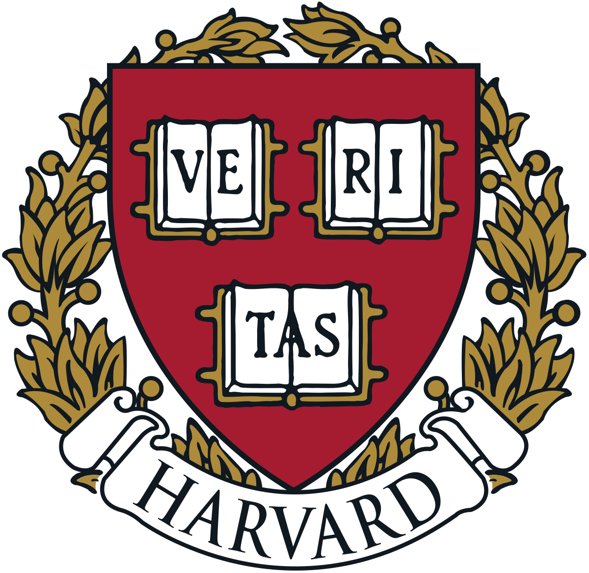Harvard shield wreath